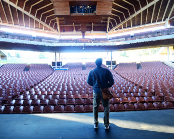 Backstage at Wolf Trap National Park for the Performing Arts